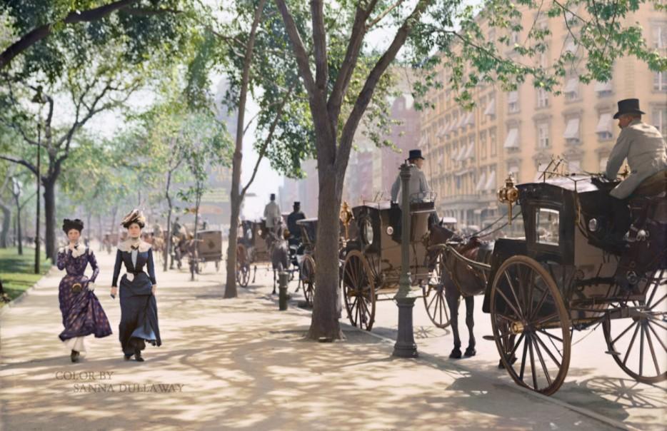 Мэдисон-сквер Гарден. 1900 год