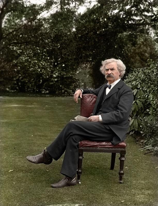 Марк Твен. 1900 год