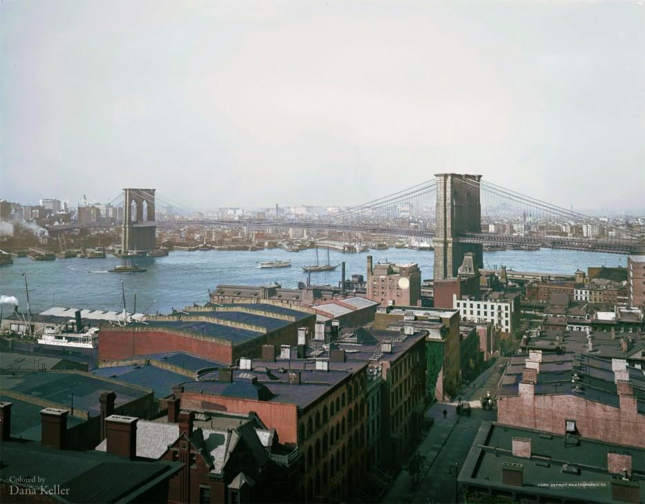 Бруклинский мост. 1904 год