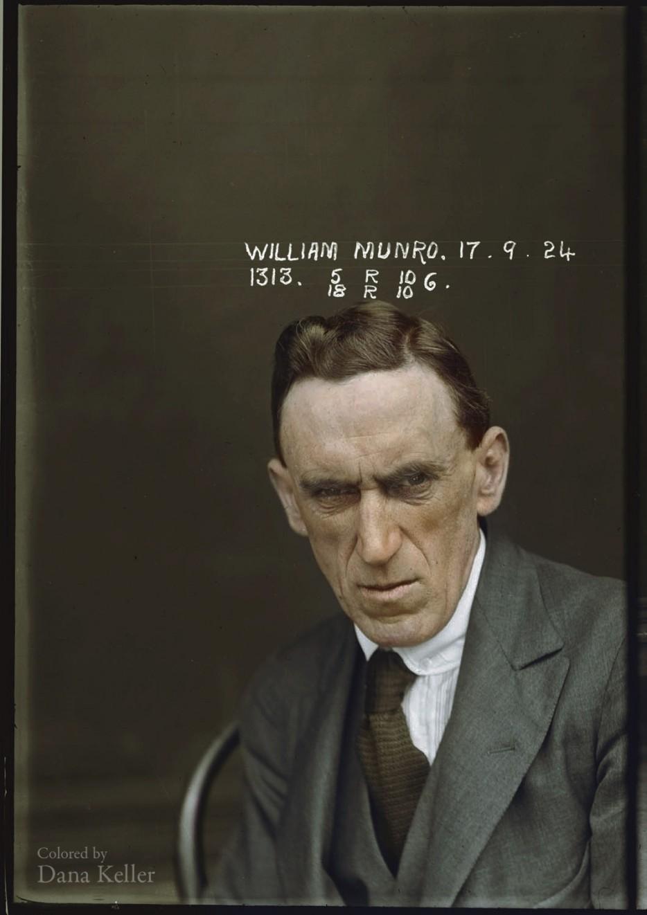 Фото преступника из архива австралийской полиции. 1902 год