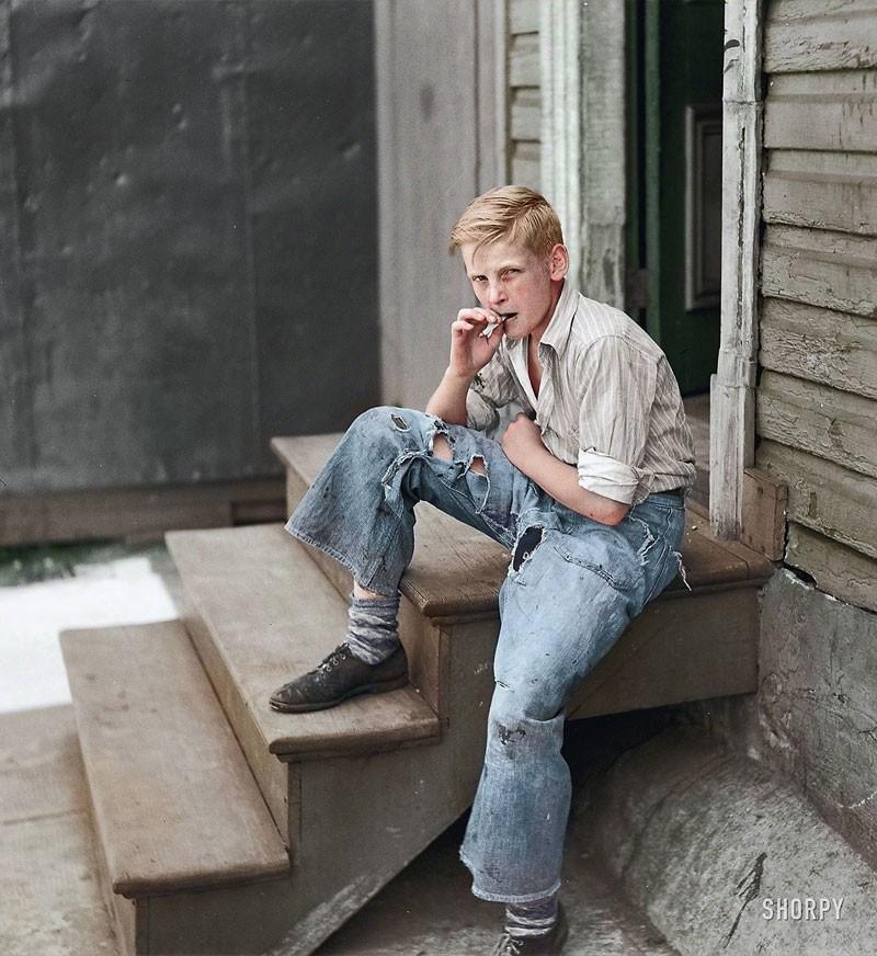 Парень из неблагополучного района. 1938 год