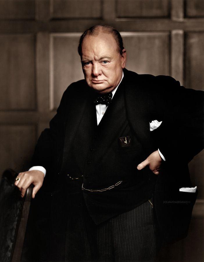 Уинстон Черчилль. 1941 год