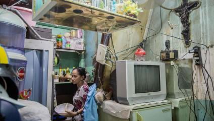 Крошечные дома Вьетнама: снимки изнутри