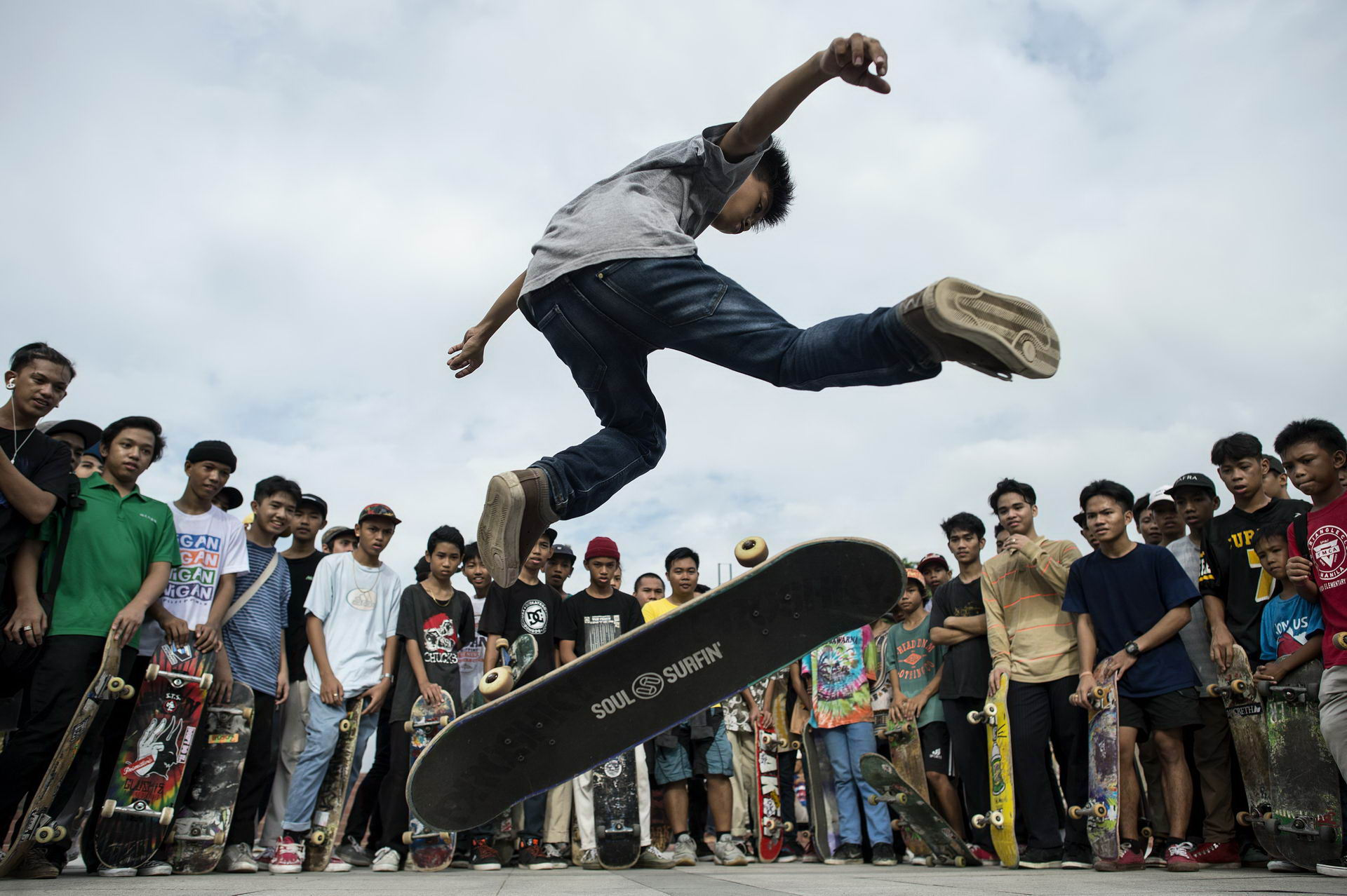 PHILIPPINES-LIFESTYLE-SKATEBOARDING