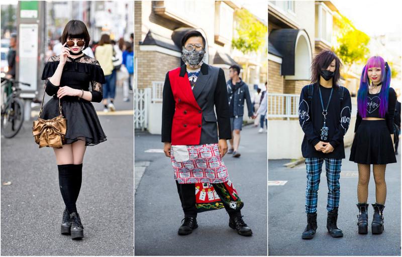 Уличная мода Токио: словами не описать