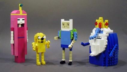 Потрясающие работы из LEGO в фото