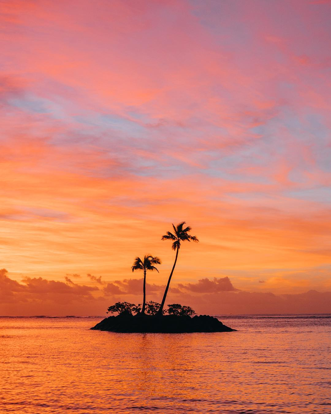 Гавайи в завораживающих снимках Винсента Лима