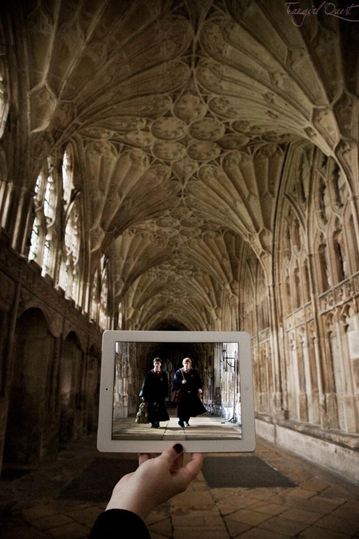 Гарри Поттер  Глостерский собор, Глостер, Великобритания