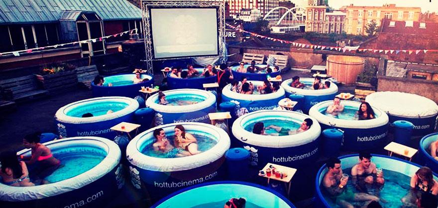 5. Hot Tub Cinema, Лондон