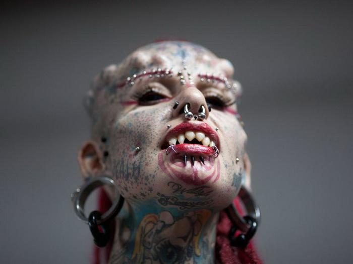 Их вы не захотите встретить в темном переулке: гости тату-фестиваля