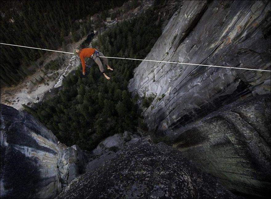 Красота и страх в одном фото: покорители высоты
