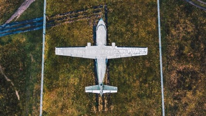 Проект «Kosmaj»: аэроснимки необычных заброшен мест