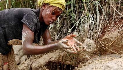 Снимки с золотых рудников Конго