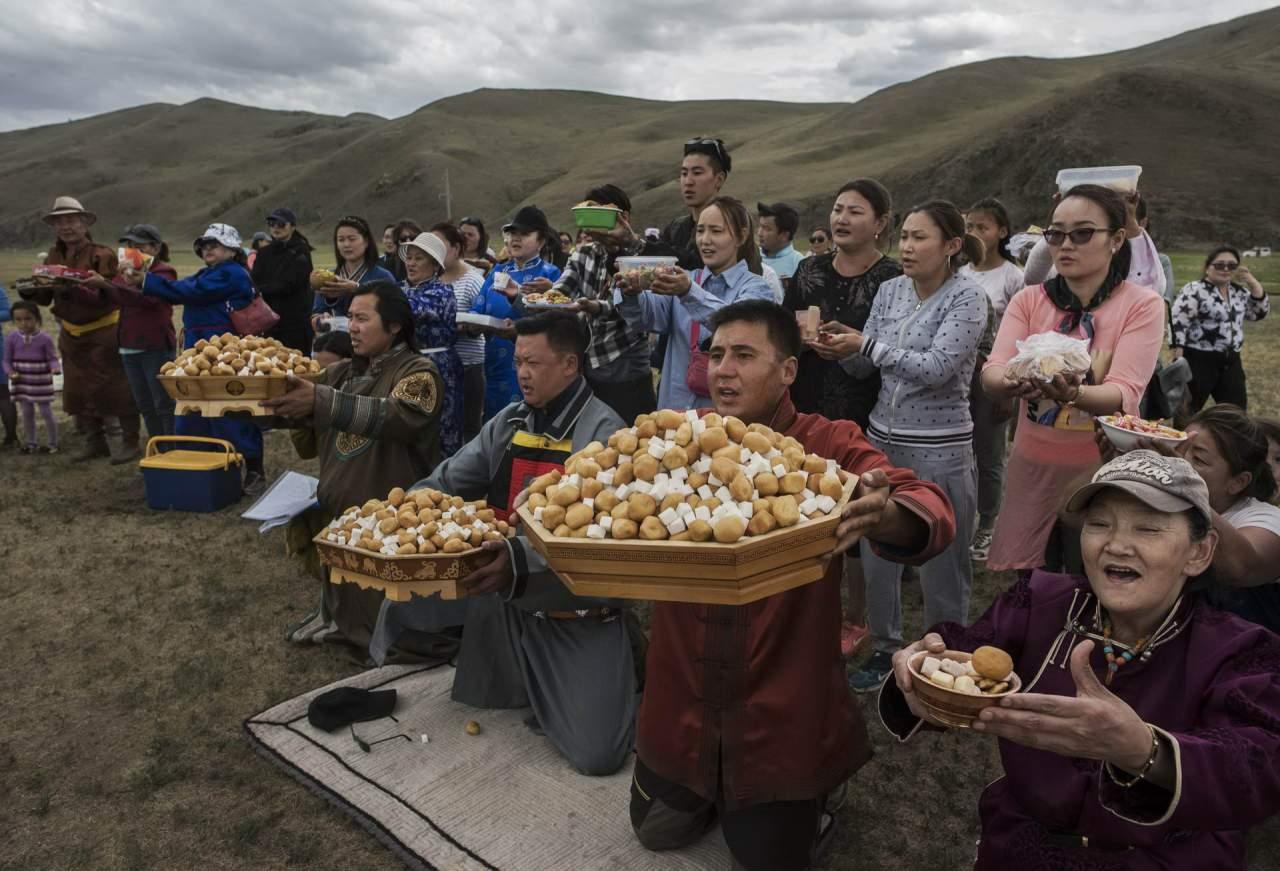 Современная Монголия и её шаманы: фото