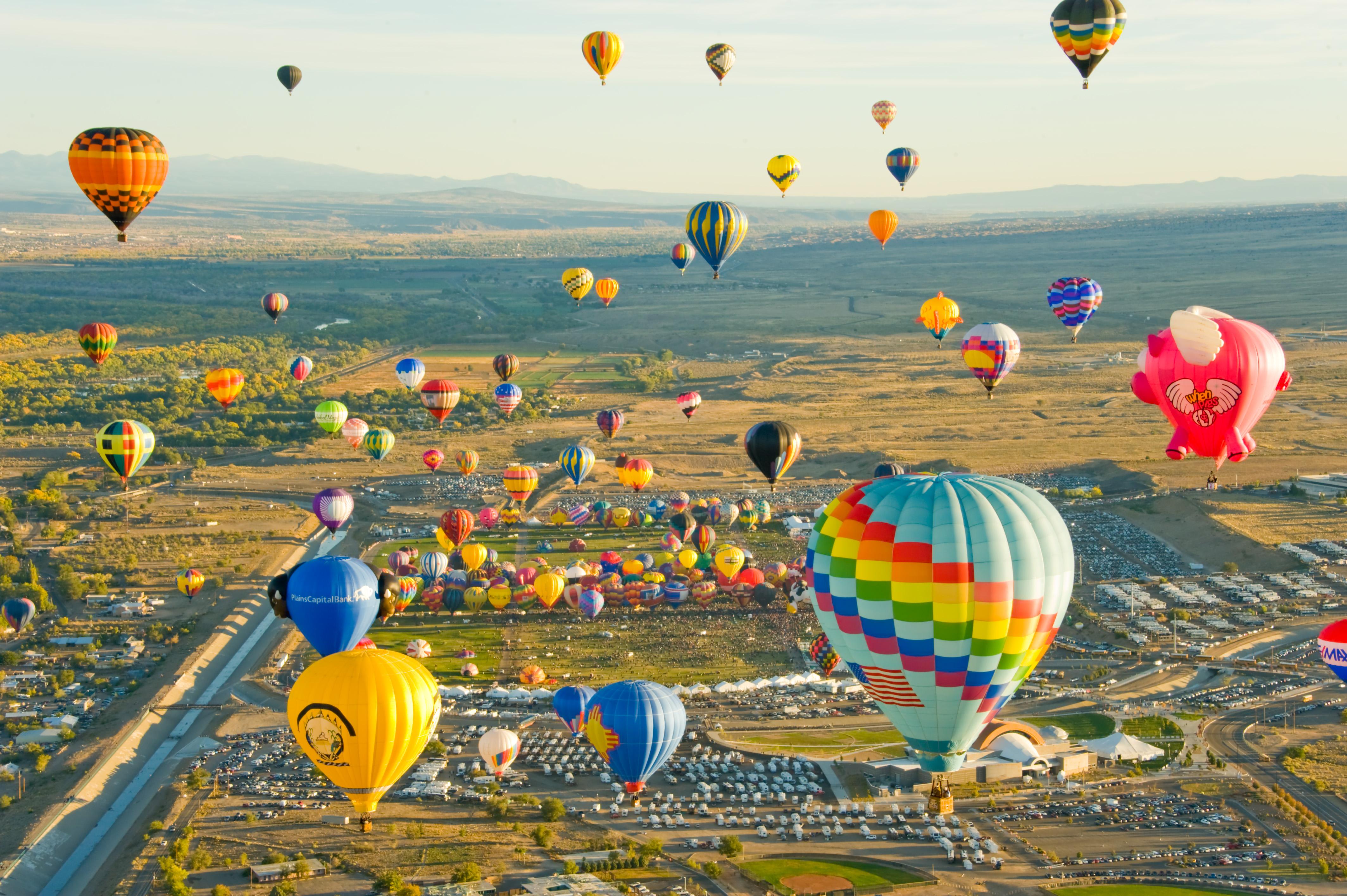 Летний фестиваль воздушных шаров Нью-Джерси: даже шар Дарта Вейдера