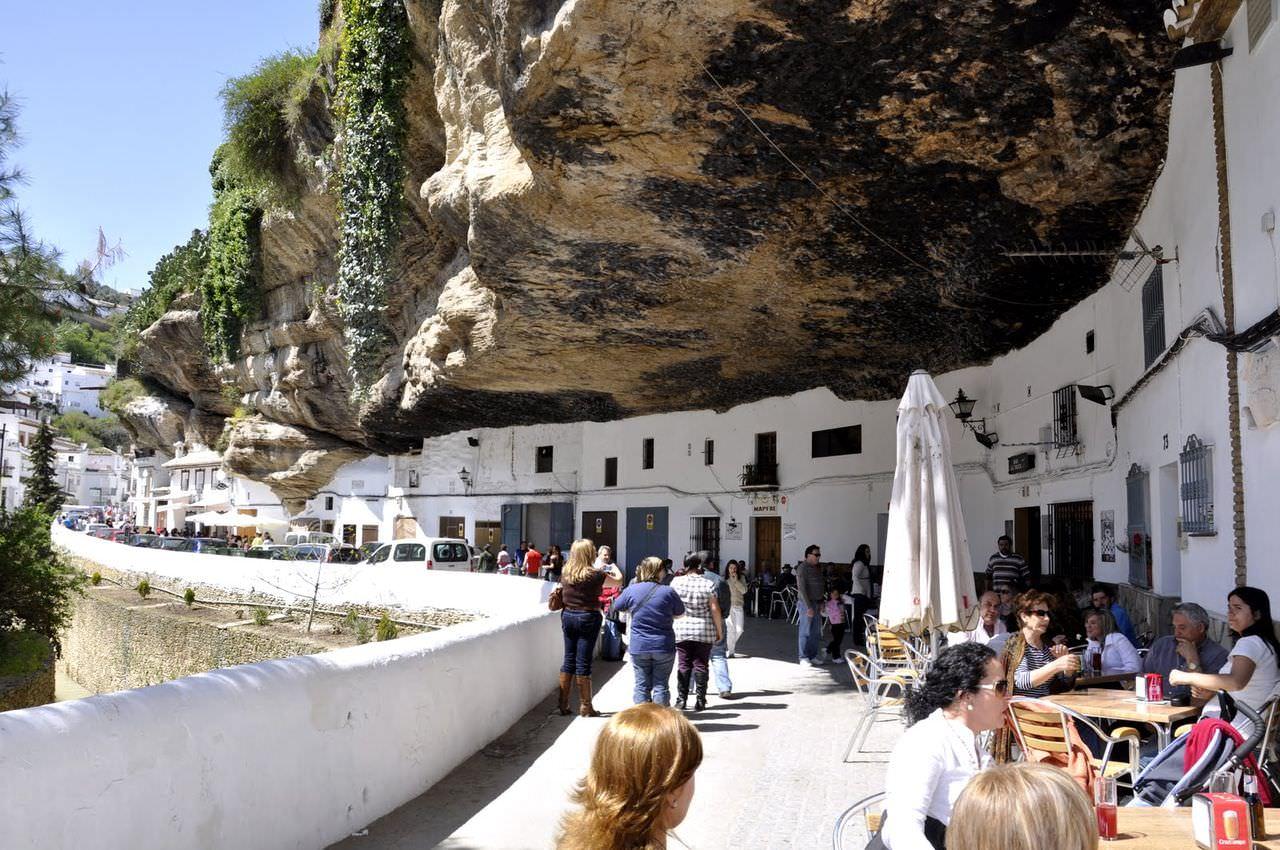 Setenil de la Bodega, Cadiz, Andalucía, España.