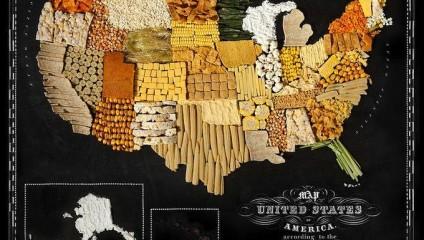 Съедобная карта мира: особенности кухни разных стран