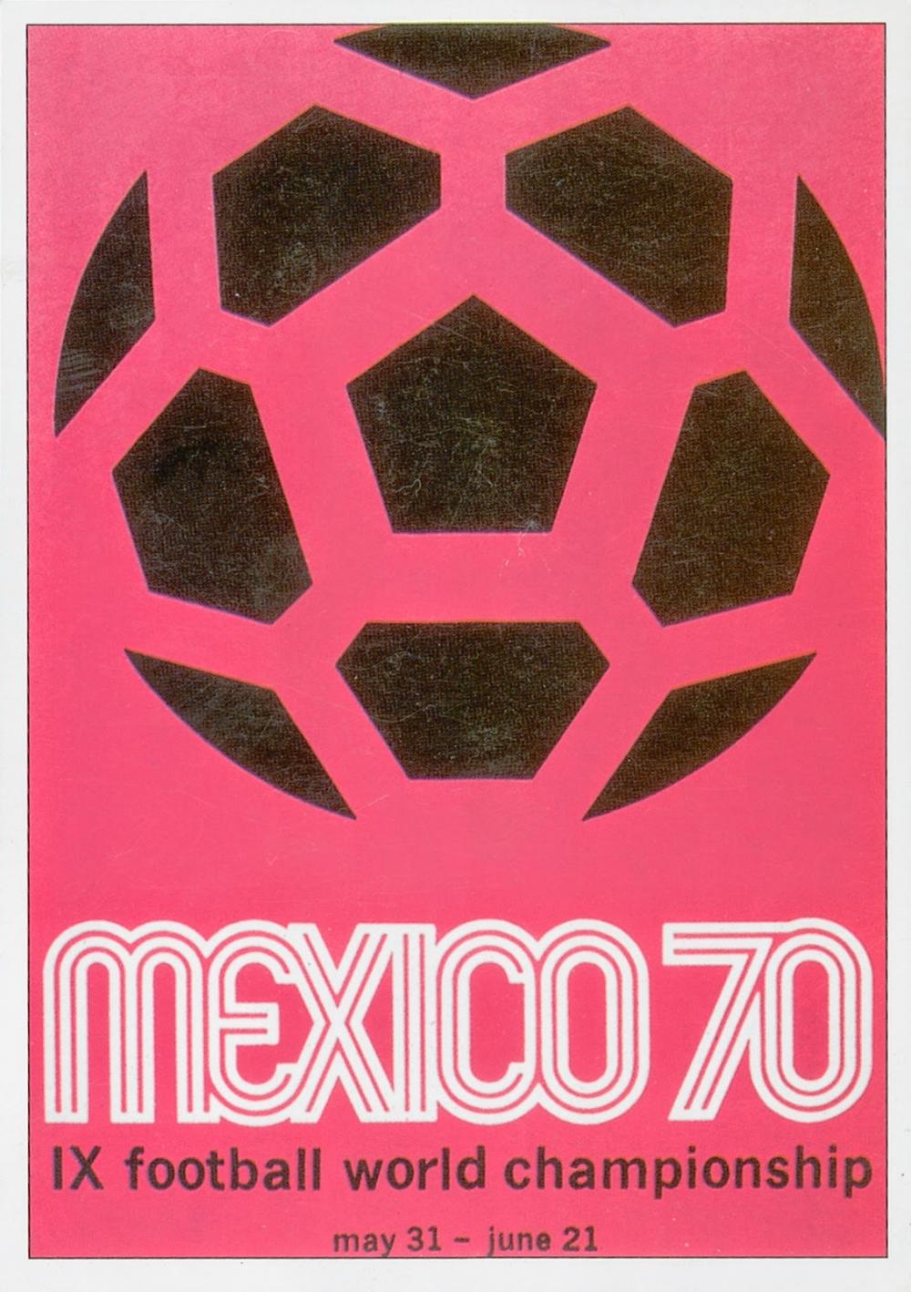 История Чемпионата мира по футболу: все плакаты с 1930 по 2014 год