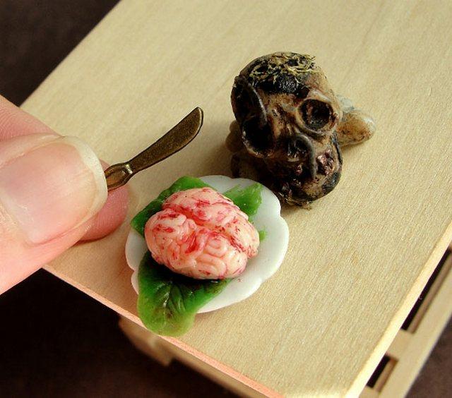 Слюнки текут: реалистичные глиняные миниатюры еды