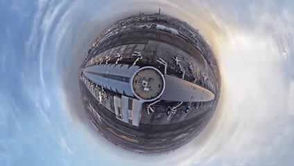 Аэропорт Дубая стал фантастической планетой благодаря необычной съемке
