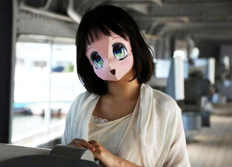 Аниме-маска своими руками