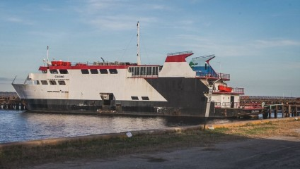 Заброшенный круизный лайнер «Казино Рояль»