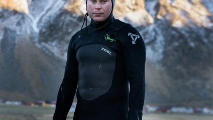 Серфинг в Скандинавии на снимках Тима Франко