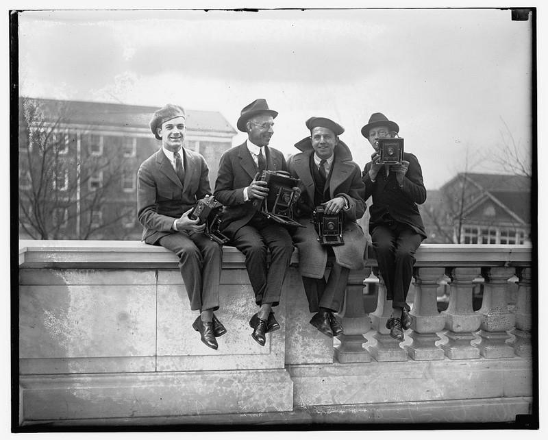 Фотограф начала ХХ века: уникальные кадры со съемок
