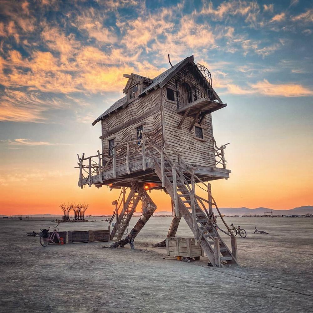 Футуризм и полет фантазии: редкий фотоотчет с фестиваля Burning Man 2018
