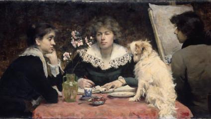 Первые художницы в истории: выдающиеся личности XIX века
