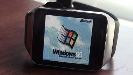 Смарт часы с Windows 95: такого никто не ожидал