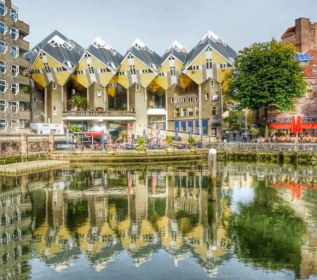 Путешествие по Роттердаму – путешествие в будущее