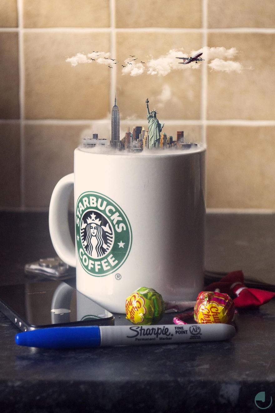 Страна в чашке: фотопроект о любимых напитках мира