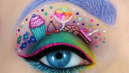 Целый мир на глазах: завораживающие картины визажиста