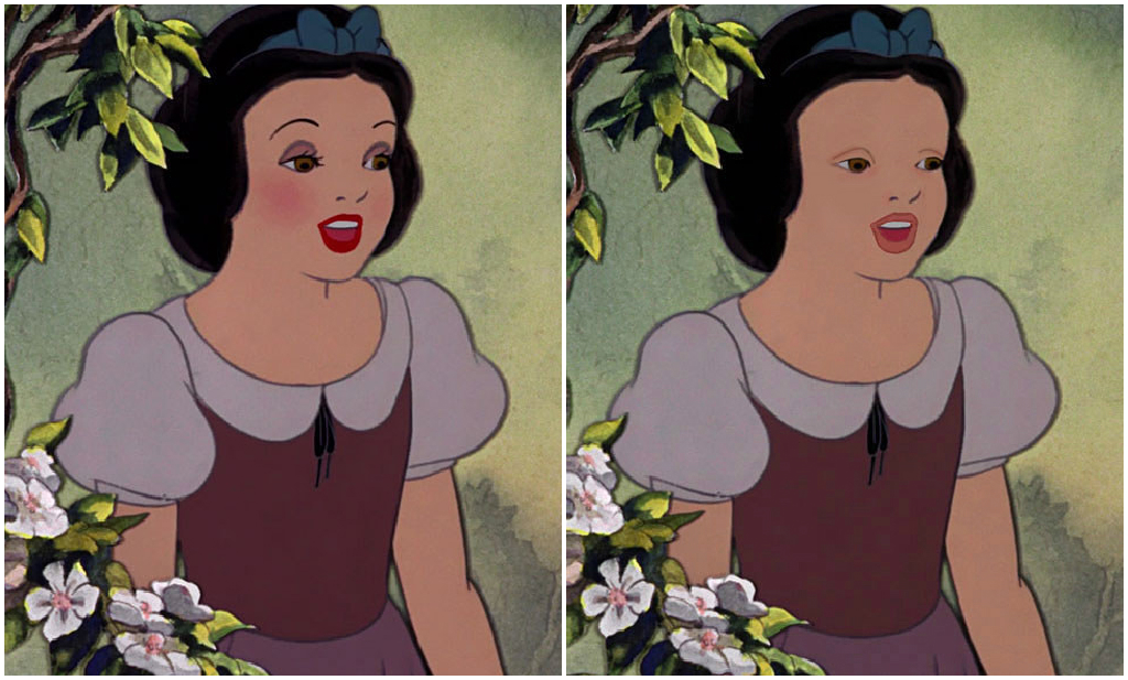 Принцессы Диснея без макияжа: эксперимент