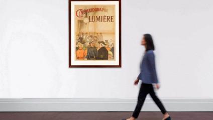 На аукцион выставлена первая в мире афиша к фильму: первый показ кино братьев Люмьер