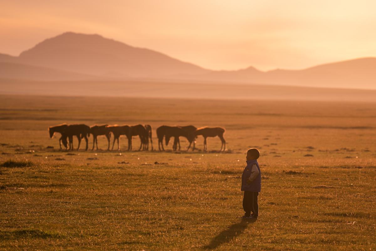Чарующая Киргизия на снимках Альберта Дроса