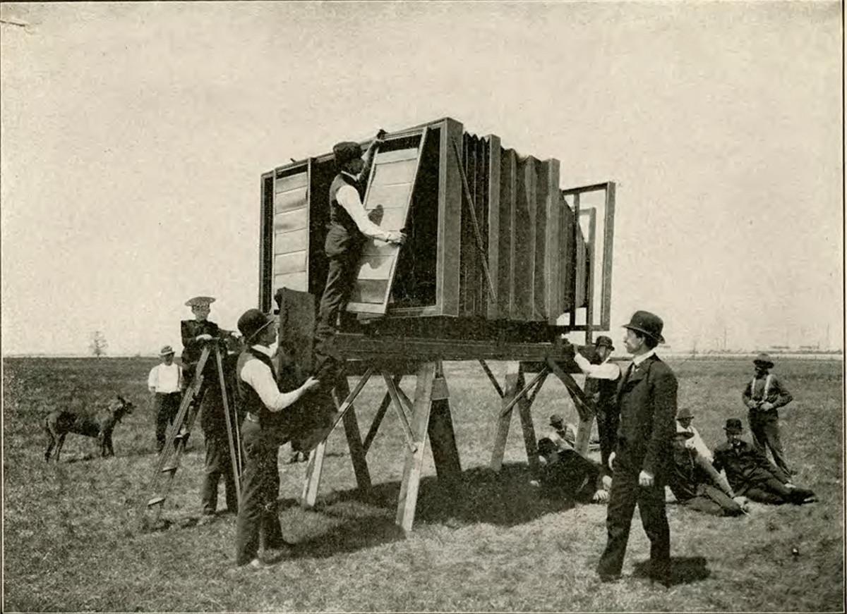 Снимок поезда 1900-го года: история самой большой фотокамеры в мире