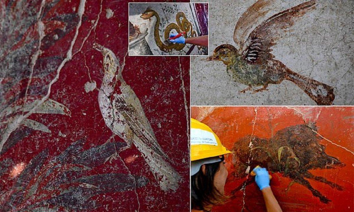 В Помпеях обнаружили святилище, которому около 2000 лет