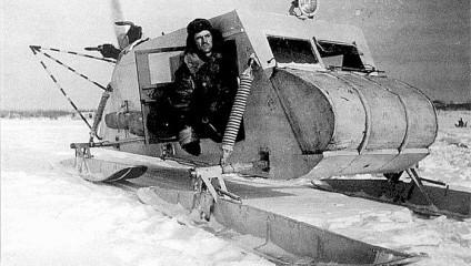 Аэросани — необычное, но эффективное российское изобретение ХХ века