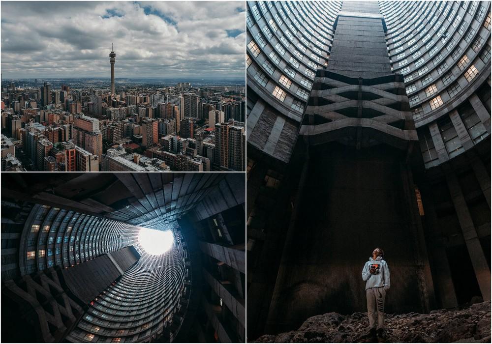 Самое высокое здание Африки: вертикальные трущобы в 55 этажей