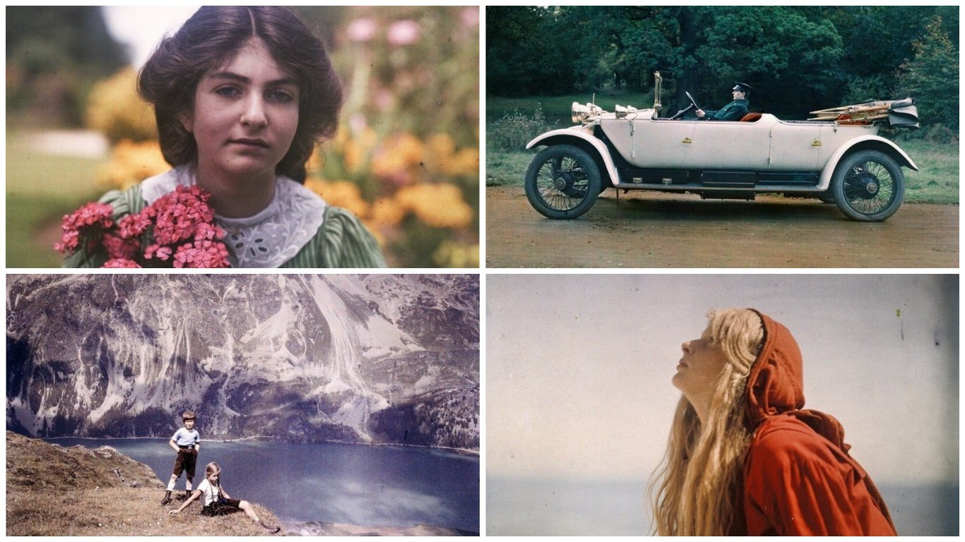 Первые цветные фотографии: архивные снимки начала ХХ века