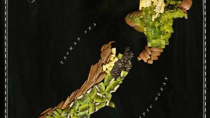 «Съедобная» карта мира: путеводитель для гурманов