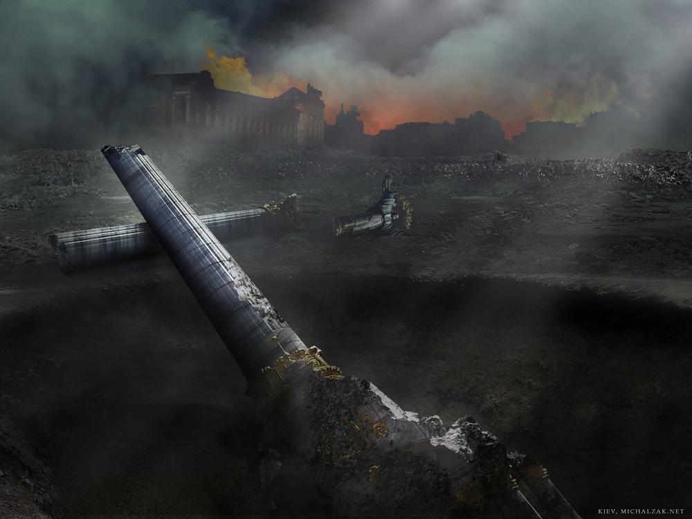Итоги Третьей мировой войны: будущее в рисунках