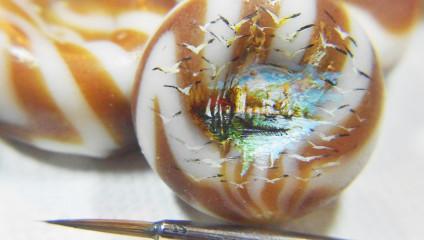 Микроскопические и выдающиеся работы турецкого художника