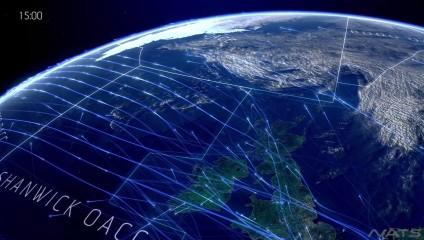 Тысячи самолетов в воздухе: воздушное пространство над Северной Атлантикой в захватывающем видео