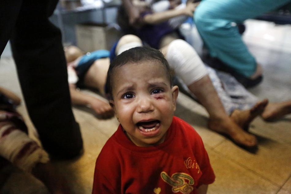 Боль, ужас и страх: фотографии из сектора Газа