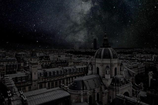 Ночное небо над мегаполисами: фотопроект