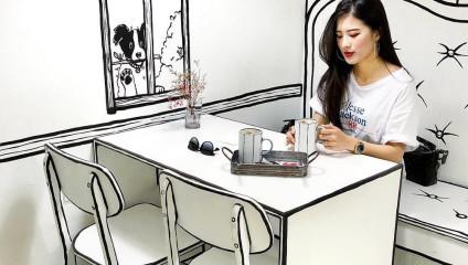 Оживший комикс: необычное кафе в Сеуле