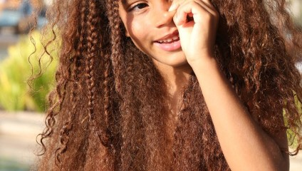 6-летний мальчик прославился благодаря своим волосам